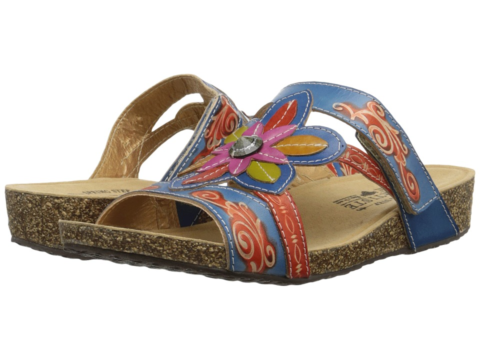 Spring Step - Thrill (Navy) Women's Sandals