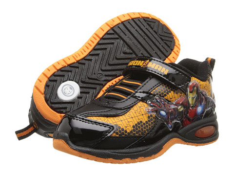 Favorite Characters - Iron Man 3 Lighted IMS903 (Toddler/Little Kid) (Gold) Boys Shoes