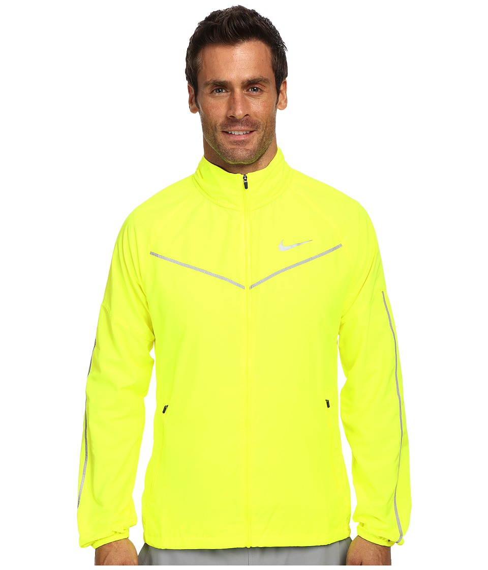 Nike - Lightspeed Jacket (Volt/Reflective Silver) Men's Coat