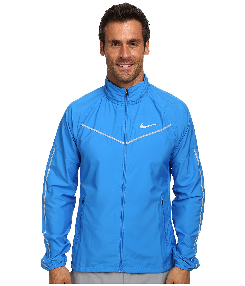 Nike - Lightspeed Jacket (Photo Blue/Reflective Silver) Men's Coat