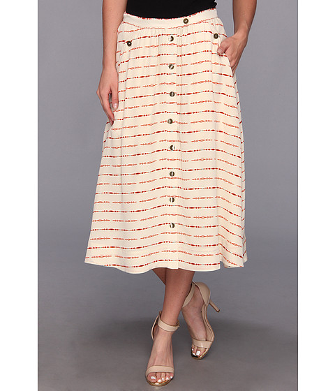 The Portland Collection by Pendleton - McKenzie Bridge Skirt (Cream Longbow Silk) Women's Skirt