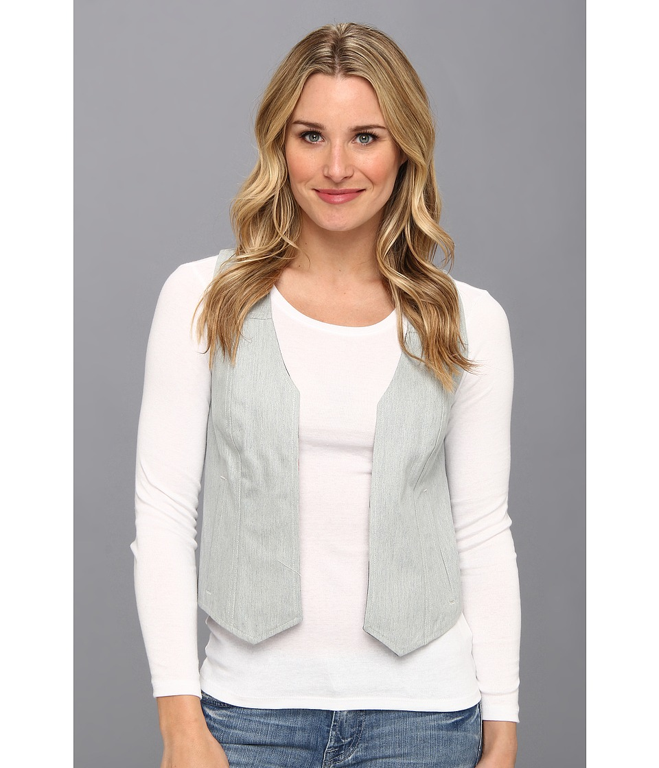 The Portland Collection by Pendleton - Sheep Springs Denim Vest (Beach/Navy Camp Stripe) Women