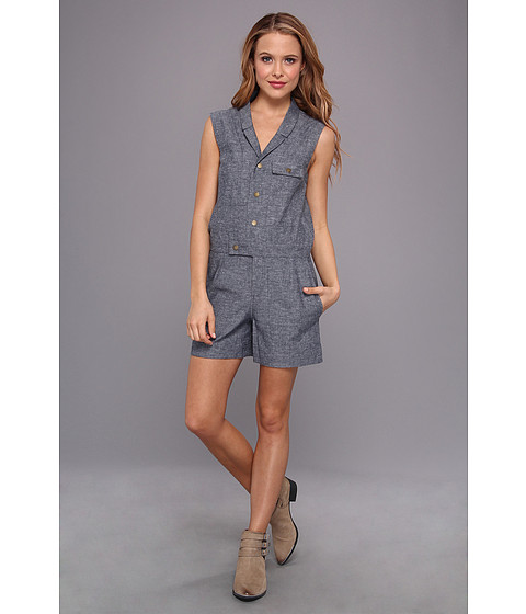 The Portland Collection by Pendleton - Champoeg Romper (Ocean) Women's Jumpsuit & Rompers One Piece