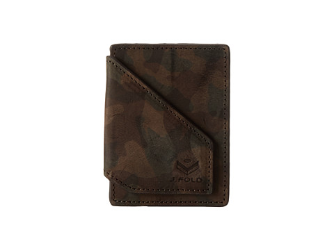 J.Fold - Jungle Magentic Front Pocket Wallet (Camo) Wallet Handbags