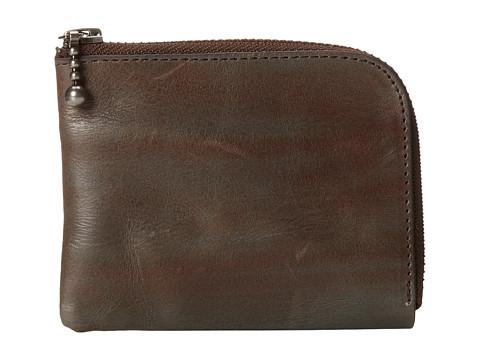 J.Fold - Water Zip Wallet (Blue) Wallet Handbags