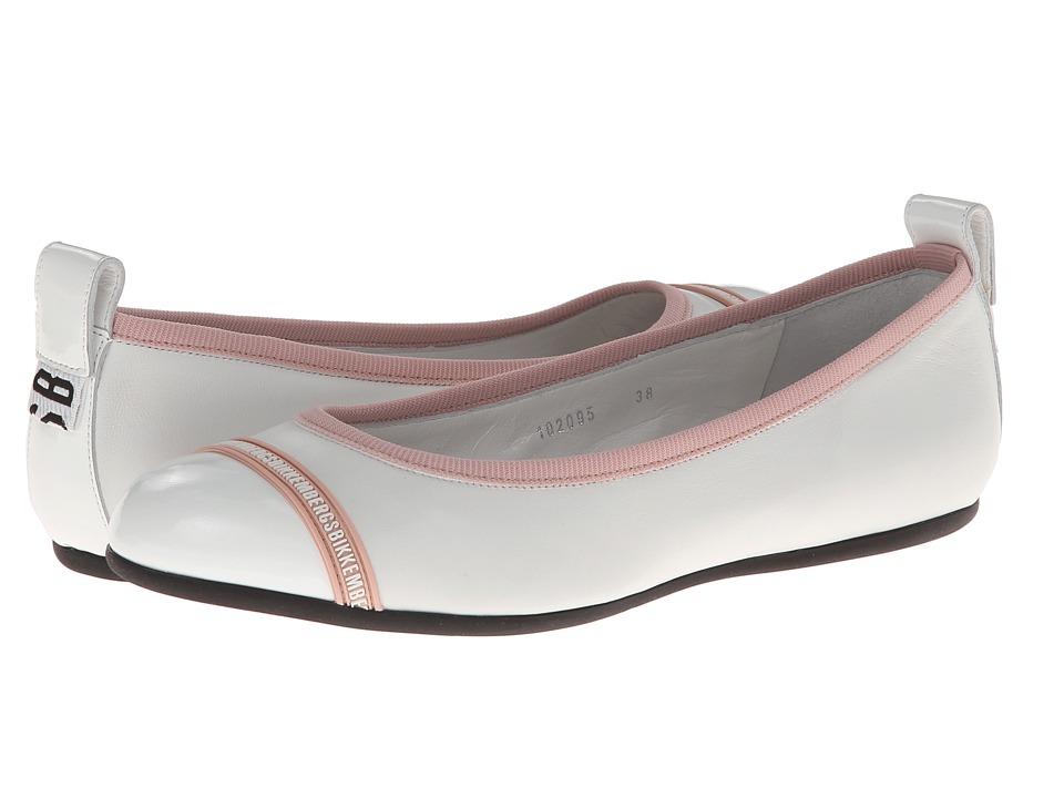 Bikkembergs - Ballet Flat DBW102095 (White) Women