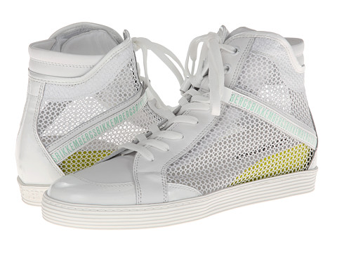 Bikkembergs - Mesh Sneaker BKE106742 (White) Women's Lace up casual Shoes