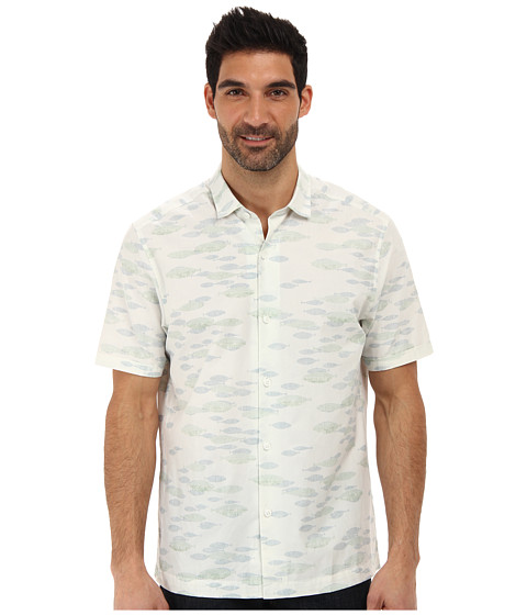 Tommy Bahama - Island Modern Fit Too Cool For School S/S Camp Shirt (Naxos) Men's Short Sleeve Button Up