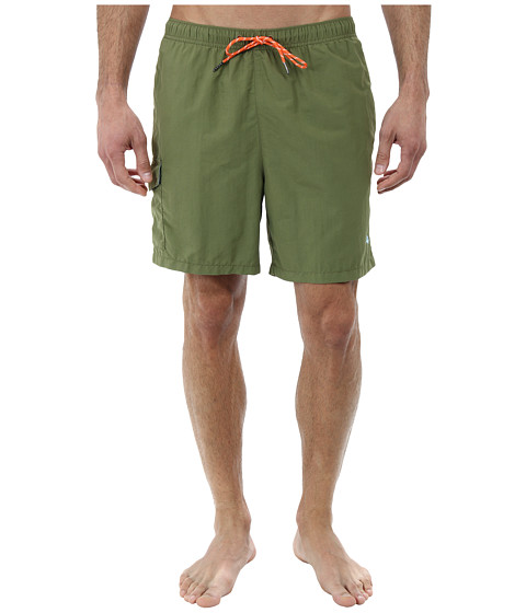 Tommy Bahama - The Naples Happy Go Cargo 6 Swim Trunks (Palm Frond) Men's Swimwear
