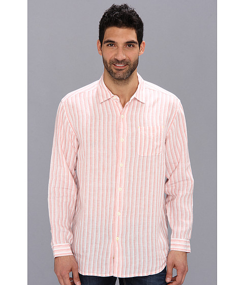 Tommy Bahama - Beach Club Breezer L/S Shirt (Citrus Sun) Men