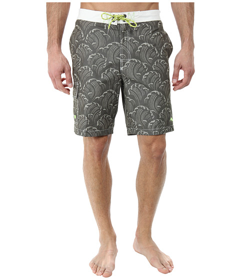 Tommy Bahama - Baja Wave Breaker (Coffee) Men's Swimwear