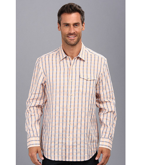 Tommy Bahama - Island Modern Fit Seaport Square L/S Shirt (Sunset) Men