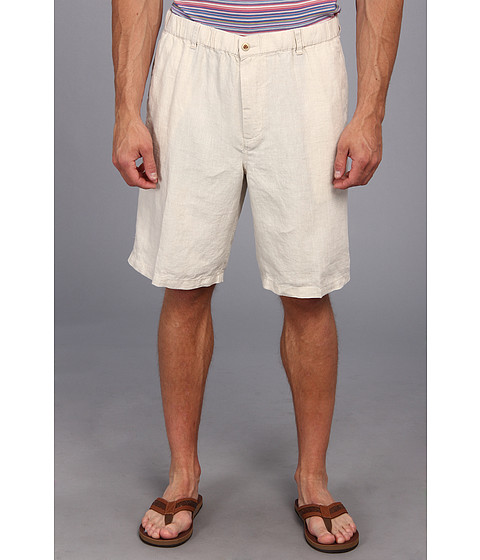 Tommy Bahama Big & Tall - Big Tall Linen Out Loud Short (Natural Linen) Men