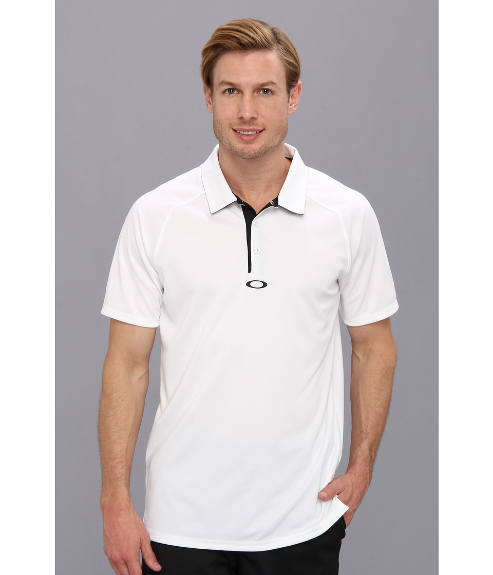 Oakley - Elemental 2.0 Polo (White) Men's Short Sleeve Pullover
