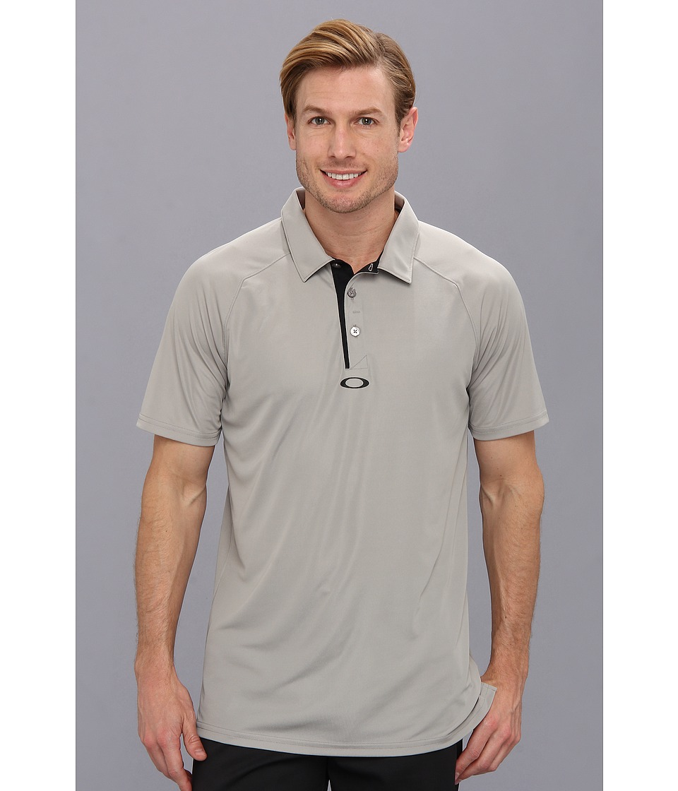 Oakley - Elemental 2.0 Polo (Grey) Men's Short Sleeve Pullover
