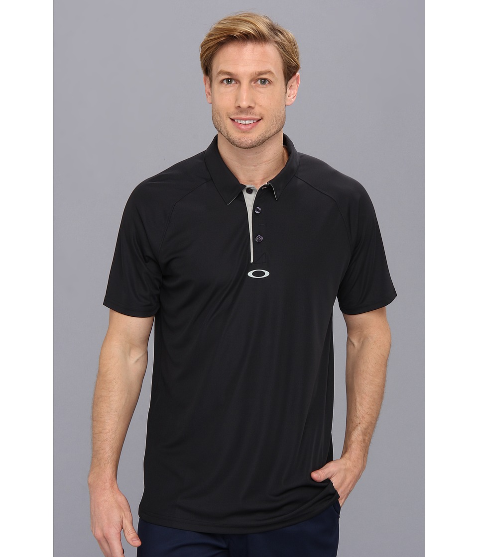 Oakley - Elemental 2.0 Polo (Black) Men's Short Sleeve Pullover