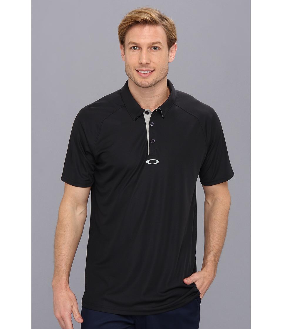 Oakley - Elemental 2.0 Polo (Black) Men's Short Sleeve Pullover