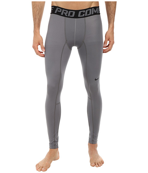 Nike - Hyperwarm Compression Lite Tight (Cool Grey/Black) Men's Clothing