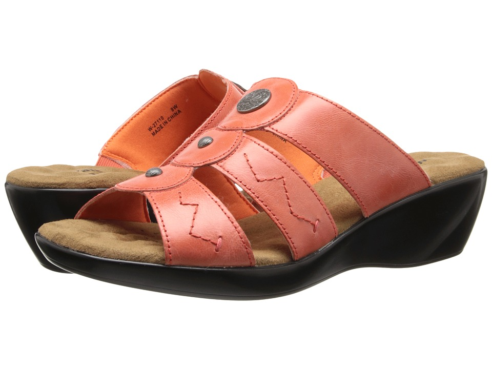 Walking Cradles - Call (Coral Waxy) Women's Sandals