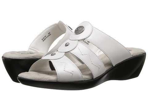 Walking Cradles - Call (White Waxy) Women's Sandals