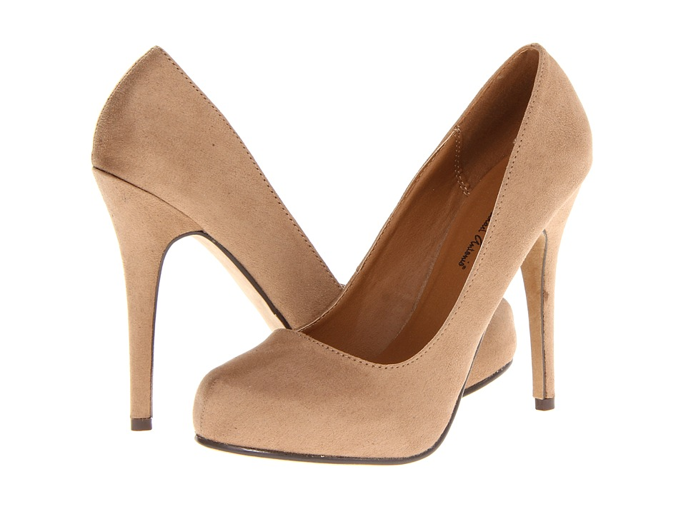 Michael Antonio Love Me Sue 2 (Nude Suede) Women