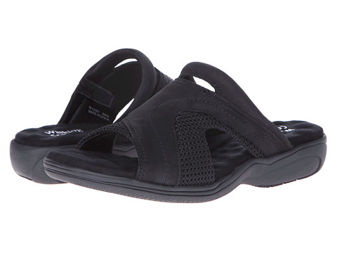 Walking Cradles - Chum (Black Nubuck) Women's Sandals