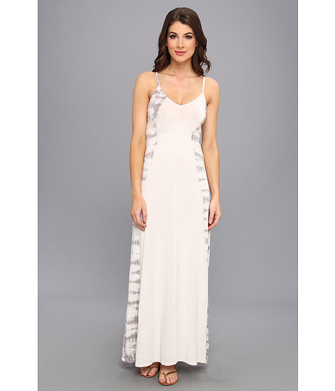 LAmade - Tie Dye Maxi Dress (Cloud) Women's Dress