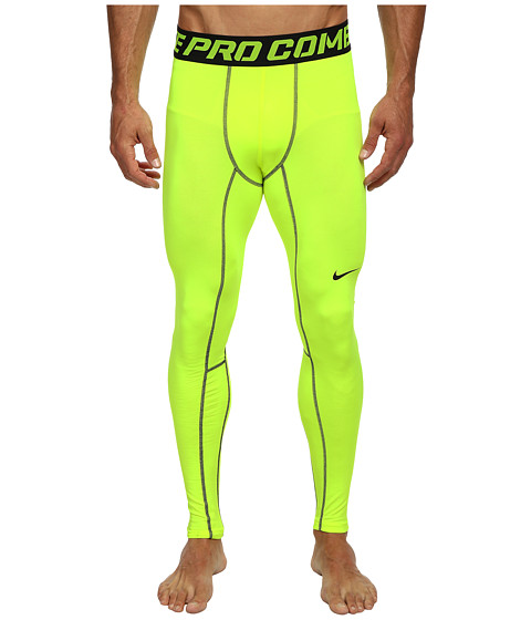 Nike - Hyperwarm Dri-FIT Compression Tight 2.0 (Volt/Black) Men's Workout