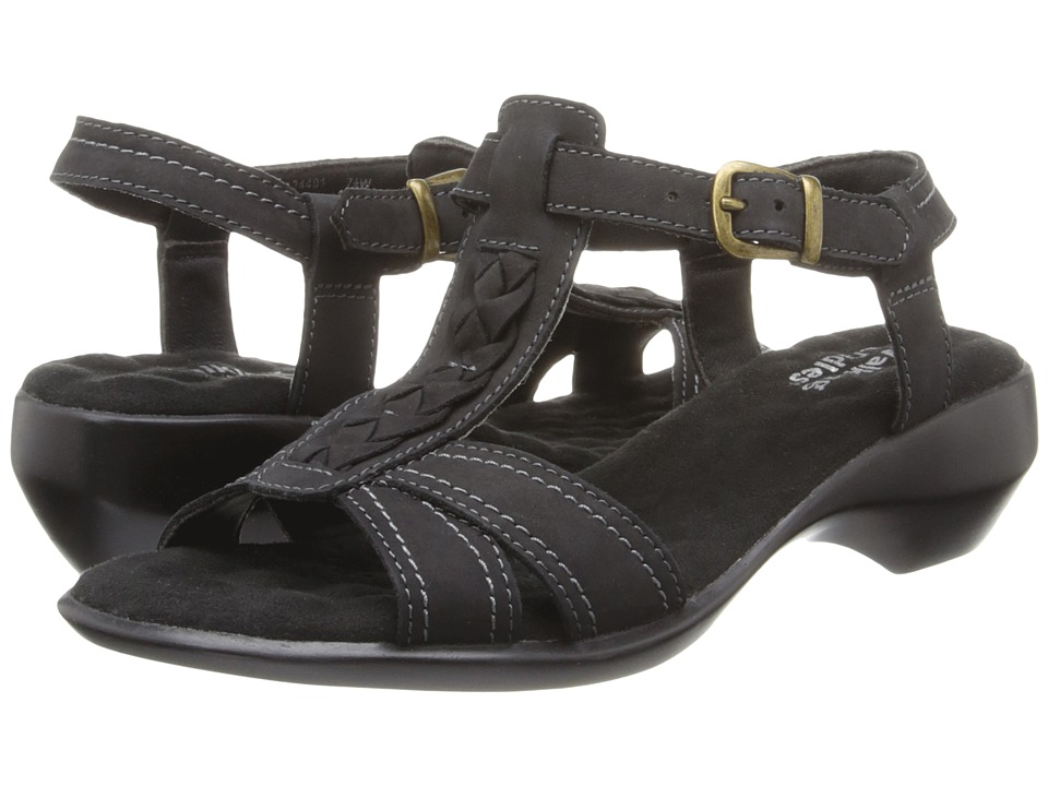 Walking Cradles Lace (Black Nubuck) Women