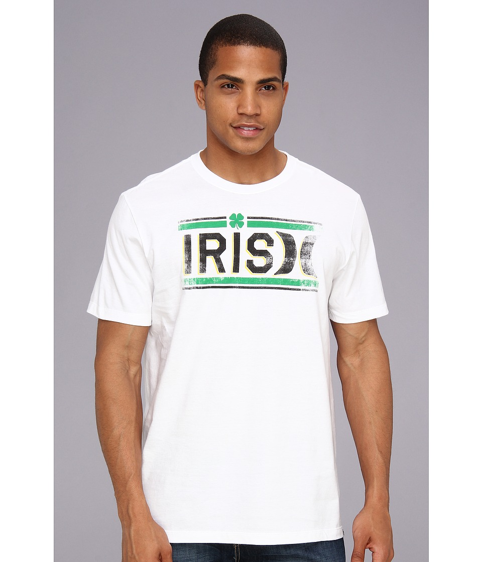 Hurley Irish Icon Premium Tee Mens T Shirt (White)