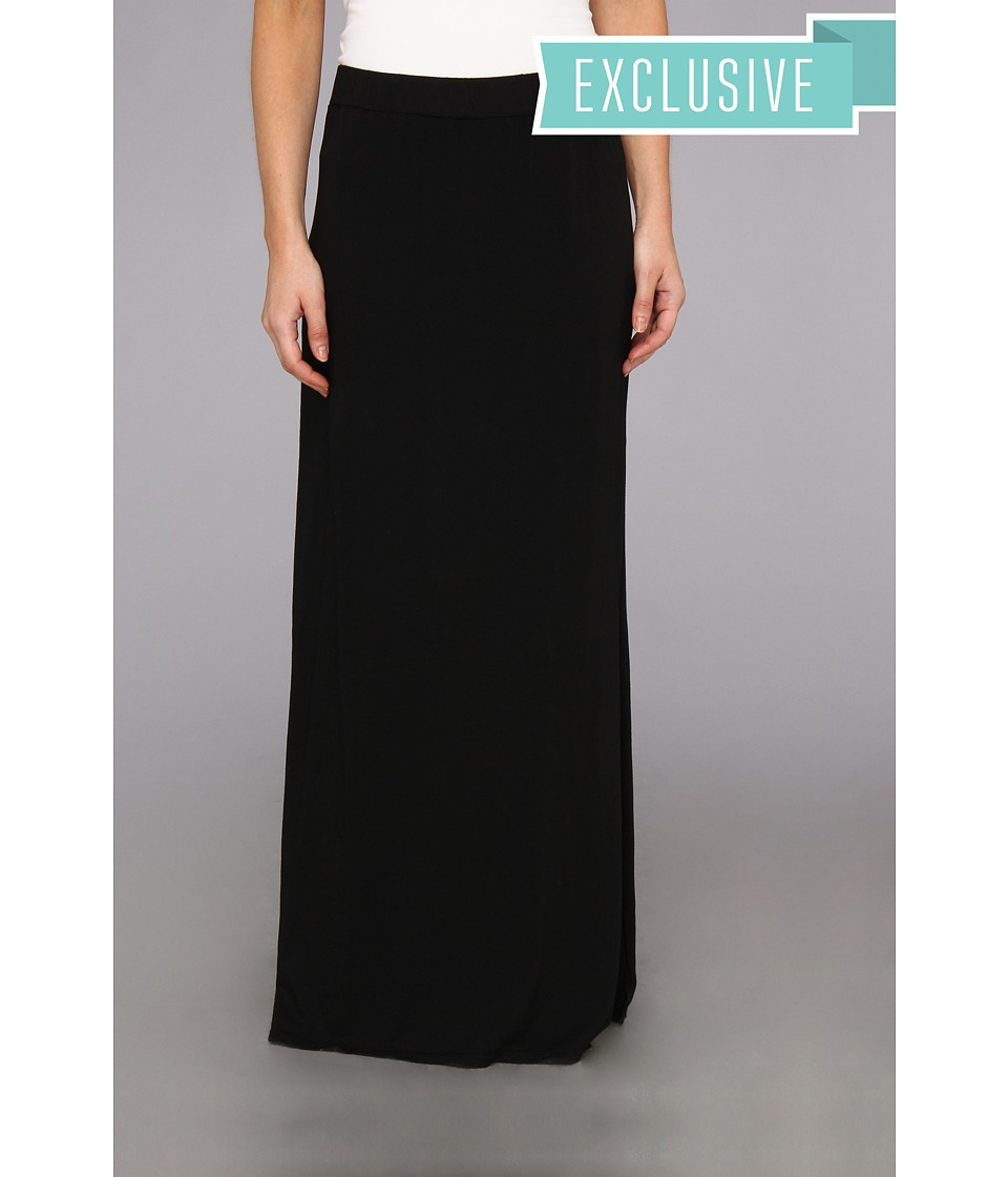 Michael Stars - Maxi Skirt With Side Slit (Black) Women's Skirt