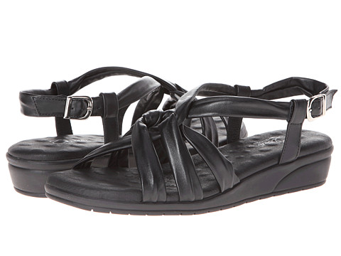 Walking Cradles - Vi (Black Softee) Women's Sandals