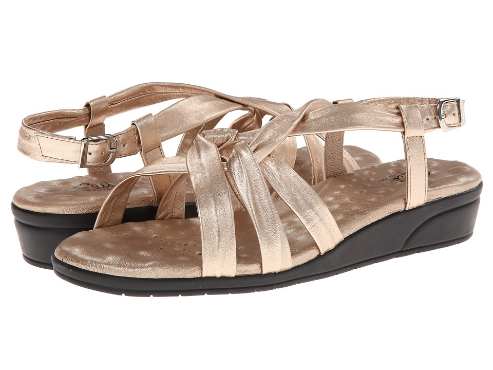 Walking Cradles - Vi (Platino Softee) Women's Sandals