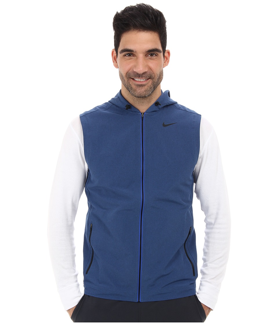 Nike - Sweat Less Vest (Game Royal/Black) Men's Vest