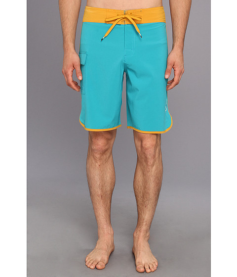 RVCA - Eastern 20 Trunk (Golden Azulejo) Men