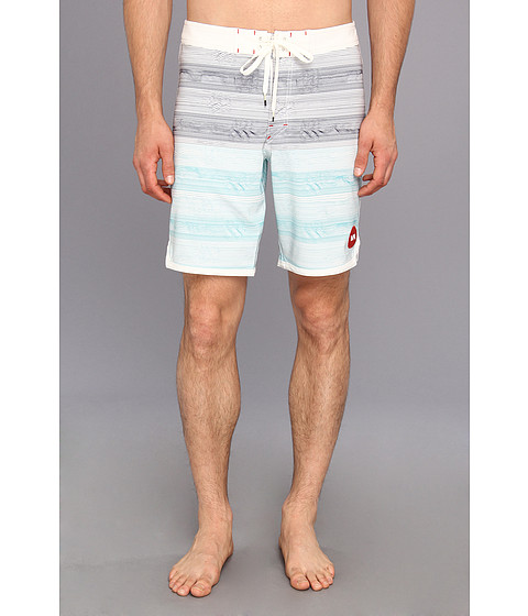 RVCA - Waves Trunk (Vintage White) Men's Swimwear