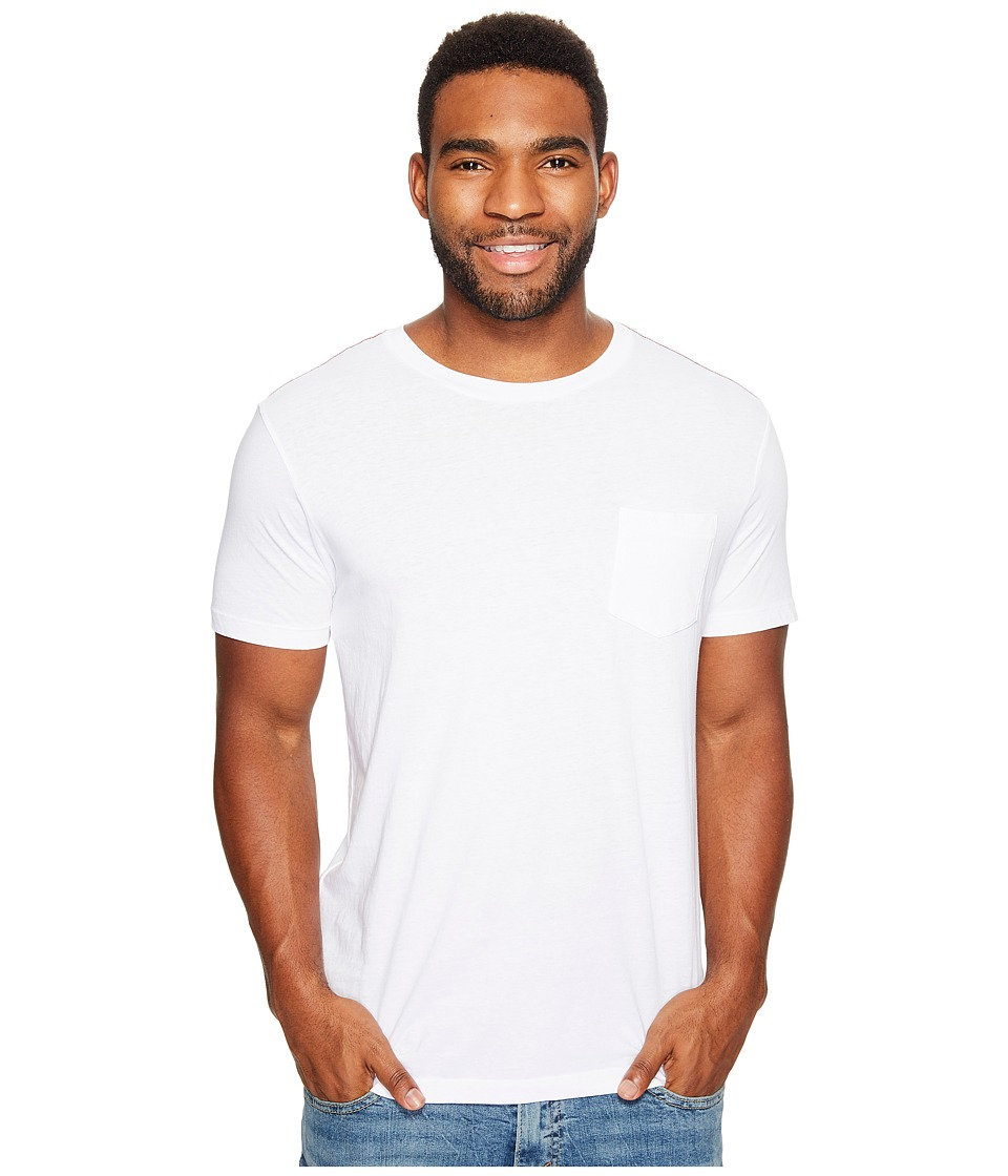 RVCA - PTC Two-Pocket Tee (White) Men's Short Sleeve Pullover