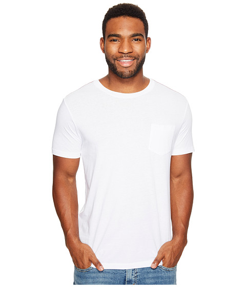 RVCA - PTC Two-Pocket Tee (White) Men