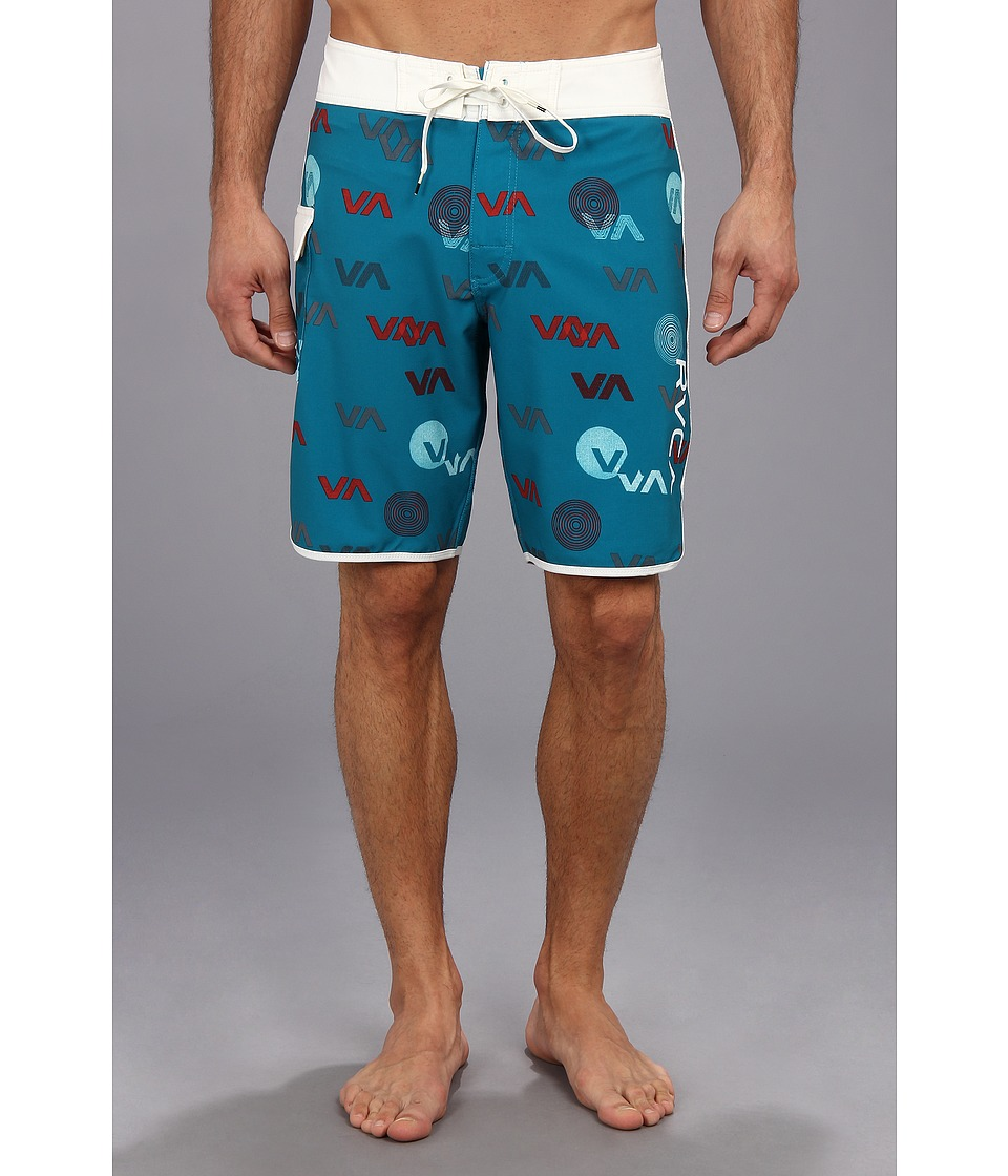 RVCA - Va Jazz Trunk (Turquoise) Men's Swimwear