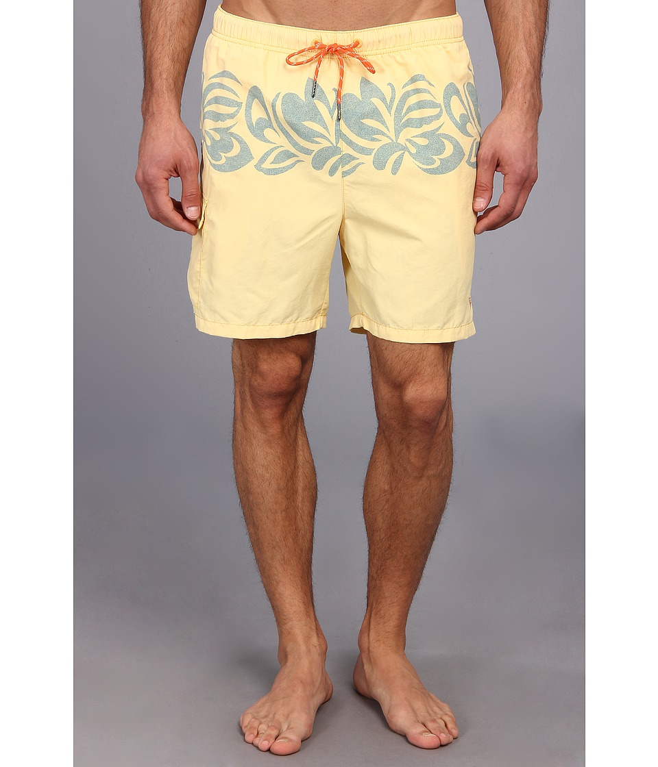 Tommy Bahama - The Naples Tribe 6 Swim Trunks (Rough Lemon) Men