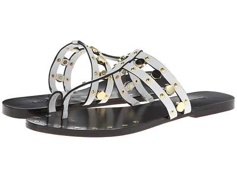 Sigerson Morrison - Buffy (White Leather) Women's Sandals