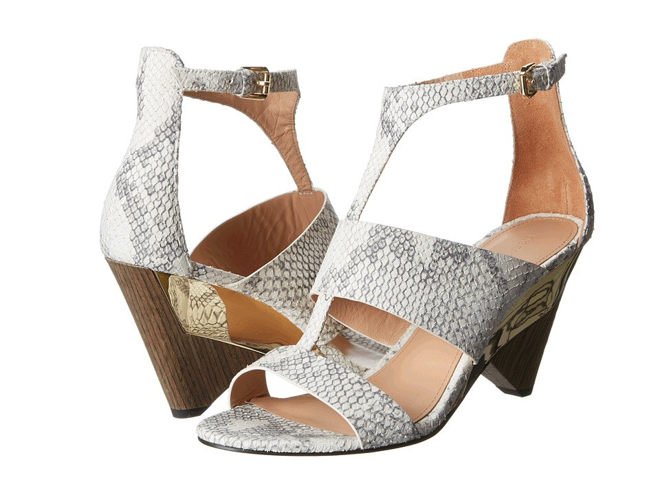 Sigerson Morrison - Dance (Light Gray Leather) High Heels