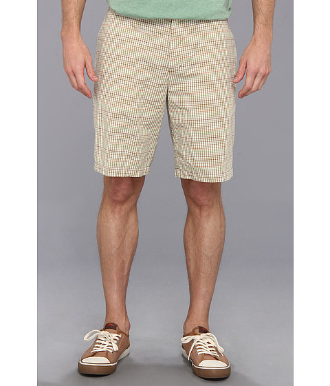Tommy Bahama - Gingham City Short (Natural Linen) Men