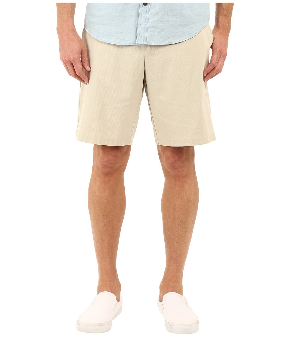 Tommy Bahama - Coastal Twill Flat Front Short (Khaki Sands) Men's Shorts