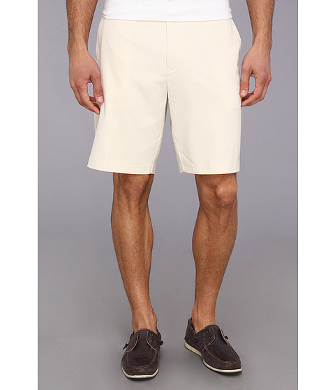 Tommy Bahama - Coastal Twill Flat Front Short (Fresco) Men