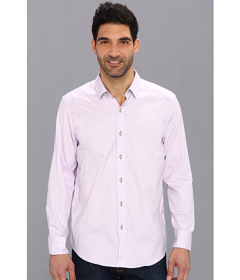 Tommy Bahama - Island Modern Fit Isle Of Oxford L/S Shirt (Lavender) Men