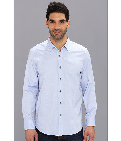 Tommy Bahama - Island Modern Fit Isle Of Oxford L/S Shirt (Light Sky) Men's Long Sleeve Button Up