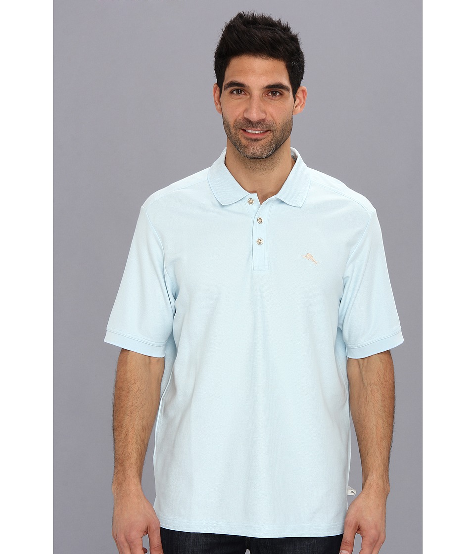 Tommy Bahama - The Emfielder Polo Shirt (Arctic Ice) Men