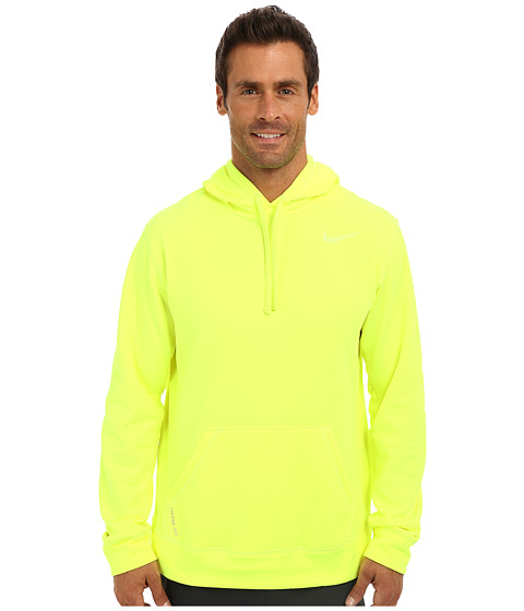 Nike - KO Hoodie 2.0 (Volt/Volt) Men's Long Sleeve Pullover