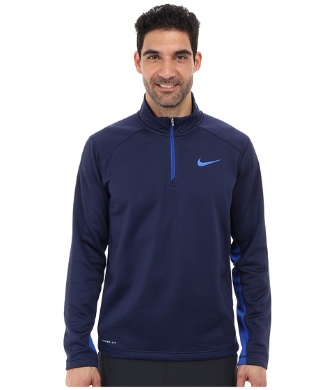 Nike - KO 1/4 Zip Top (Midnight Navy/Game Royal/Game Royal) Men's Long Sleeve Pullover